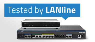 Visual zum LANline Test von LANCOM VPN Gateways