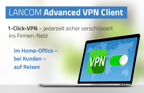 Visual LANCOM Advanced VPN Client