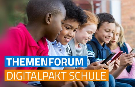 Visual THEMENFORUM DigitalPakt Schule
