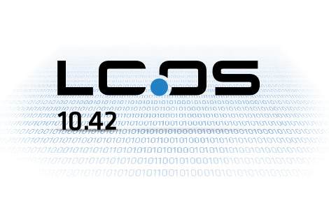Logo LANCOM Betriebssystem LCOS 10.42