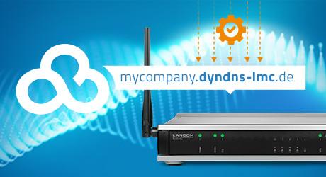 Visual LANCOM LCOS 10.42 RC3 Dynamic DNS Feature für Public Cloud