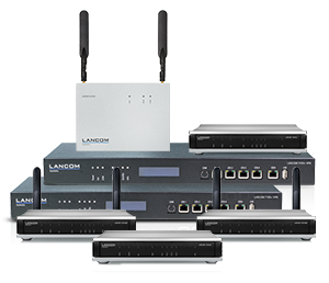 Cloud-ready: LANCOM Router & VPN Gateways