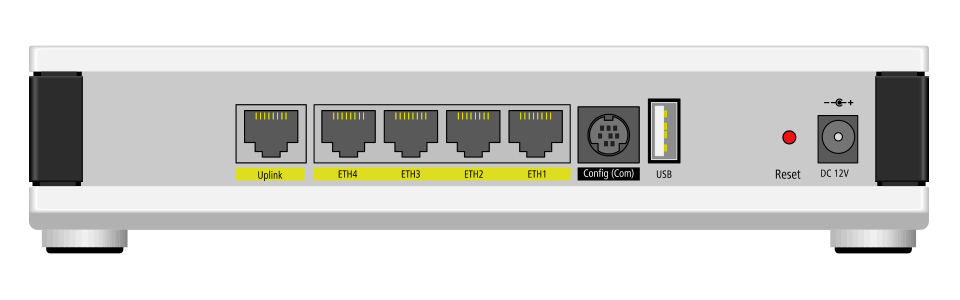 LANCOM WLC-4006plus Anschlüsse